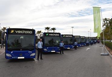 Vectalia incorpora nuevos vehículos híbridos en La Alcoyana