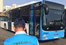 Autobús operado por Vectalia en Nador.