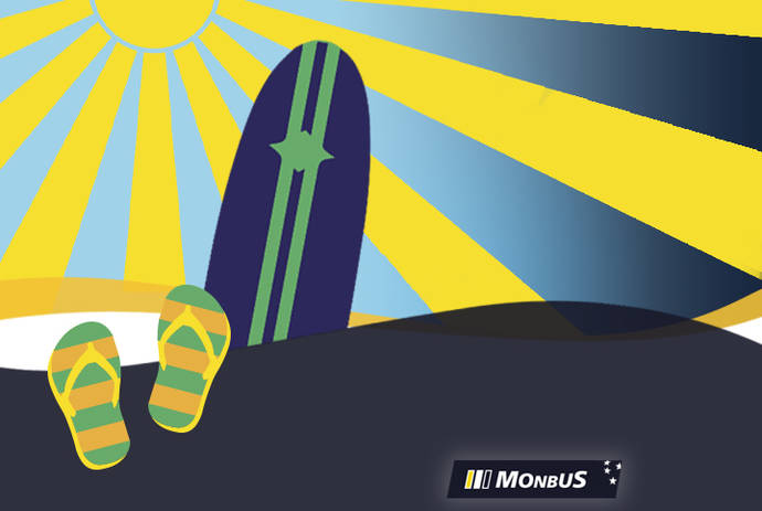 La compañía Monbus aumenta sus servicios de playa