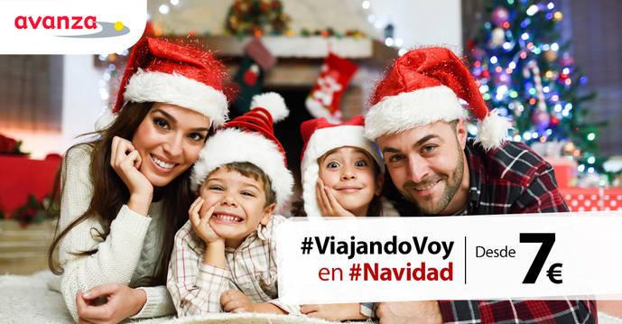 Avanza lanza la campaña 'Viajando voy en Navidad'