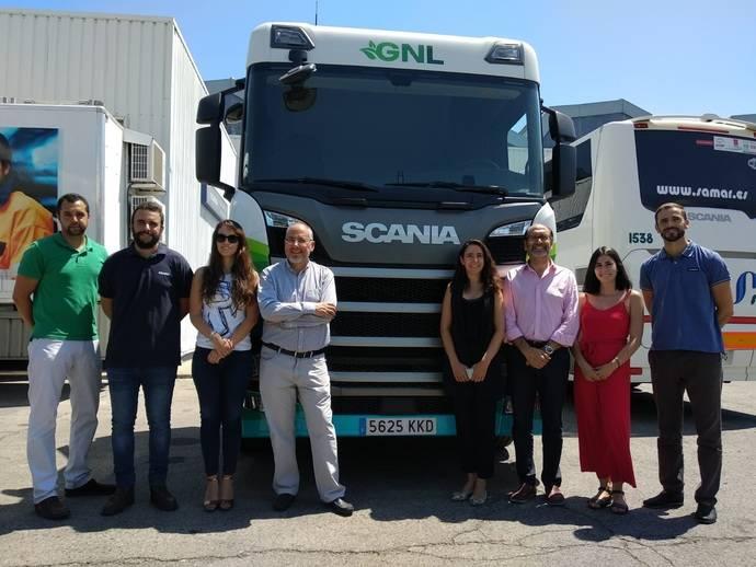 Las instalaciones de Scania en Madrid reciben la visita de Gasnam