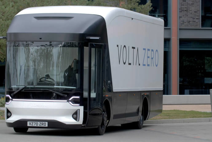 Volta Trucks continúa su gira europea y presenta el Volta Zero en Países Bajos
