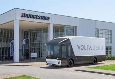 Bridgestone suministra los neumáticos para Volta Trucks
