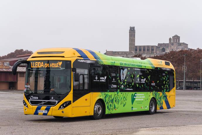 Autobusos Lleida adquiere cinco buses híbridos Volvo