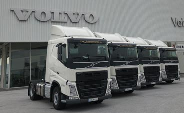 Trans Res renueva su flota de limpieza con cuatro tractoras Volvo