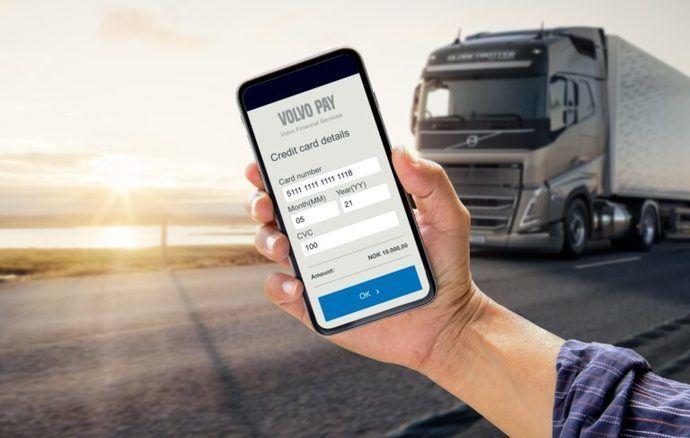Volvo Pay, la nueva forma de pago en smartphone