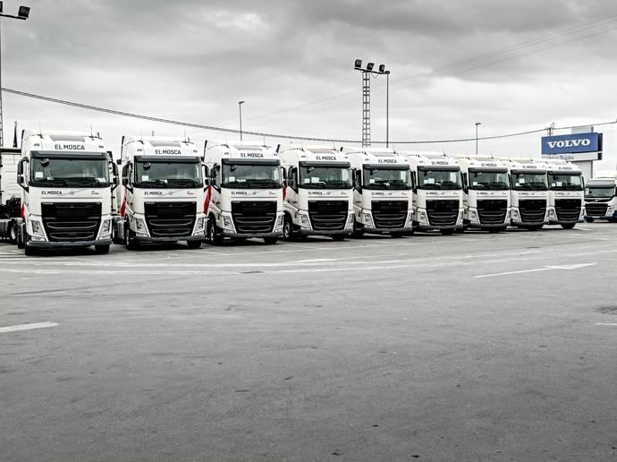 40 Volvo FH con I-Save se unen a la flota de El Mosca