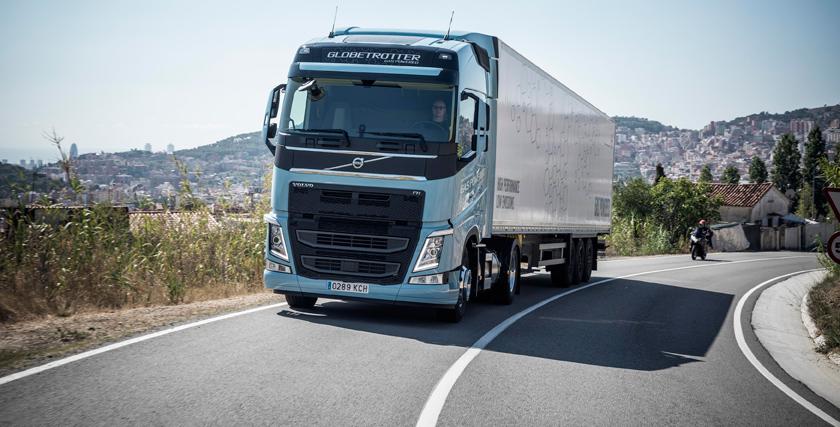 El gas natural licuado protagonista de los nuevos camiones de Volvo