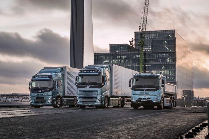 Volvo Trucks revela la tecnología de sus nuevos camiones eléctricos para transporte pesado