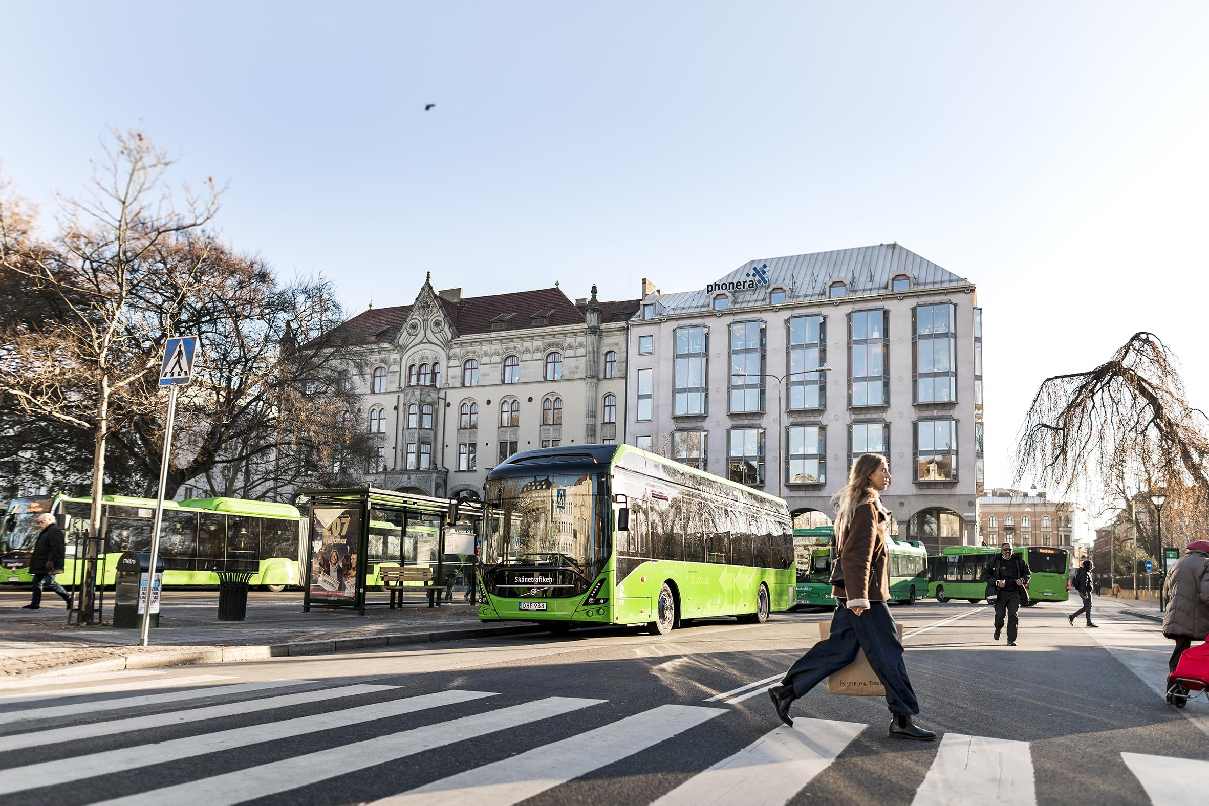 Volvo vende cuatro autobuses eléctricos a Uddevalla