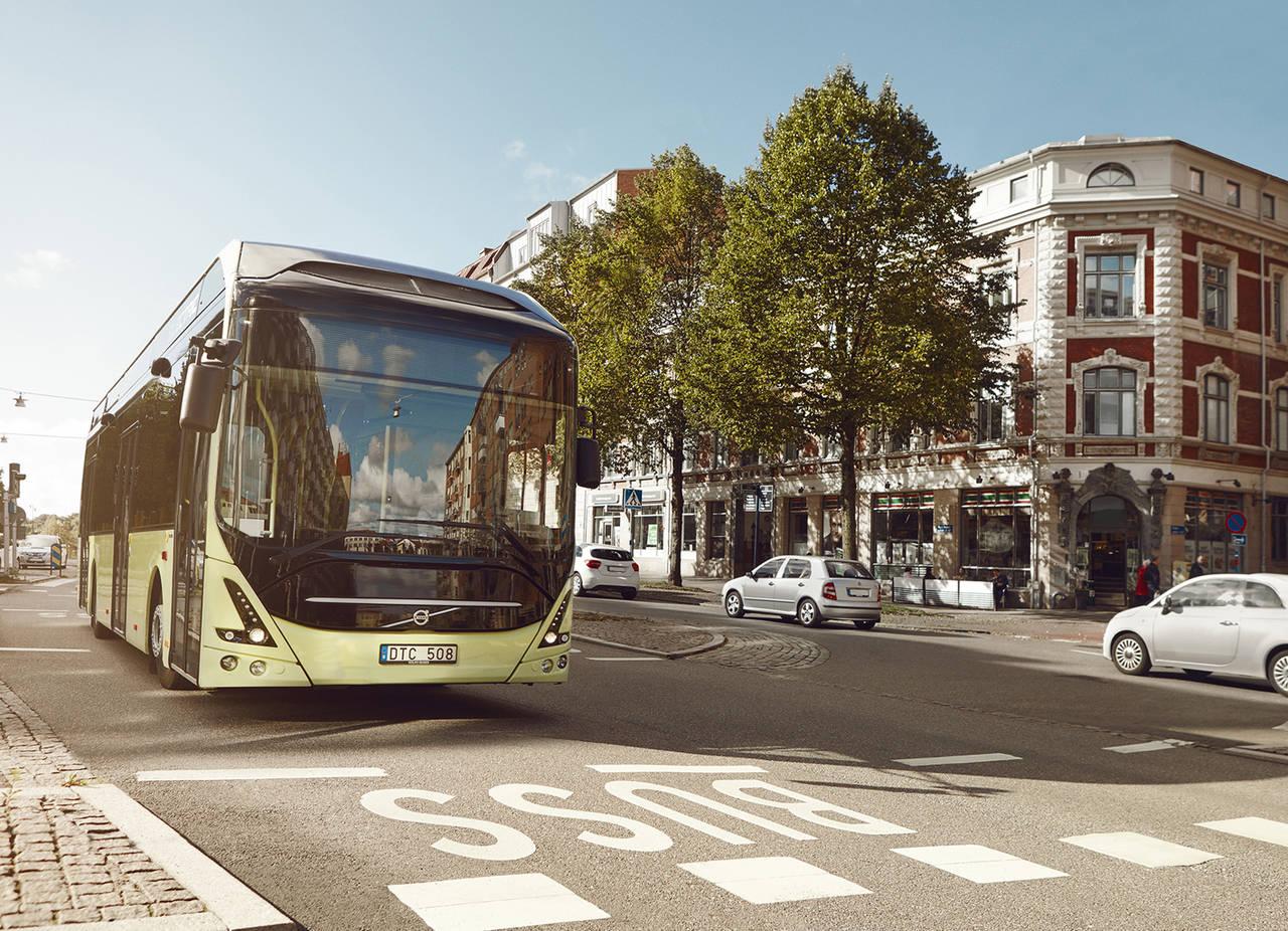Volvo vende autobuses eléctricos a Luxemburgo