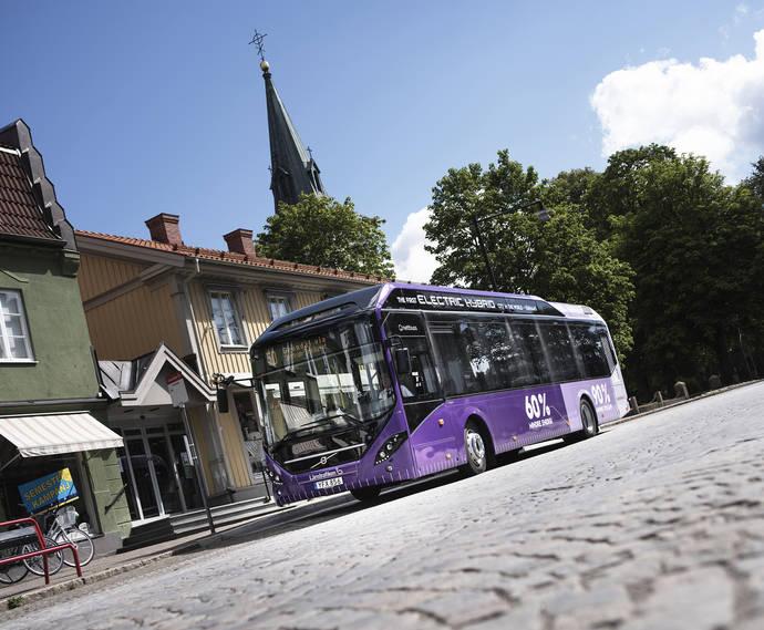 Volvo se centra en la electromovilidad y la seguridad para Busworld 2017