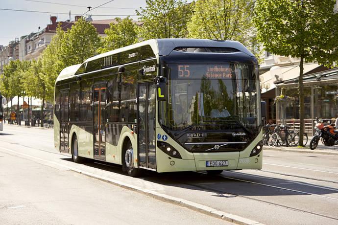 Volvo vende su sistema de autobús eléctrico a Luxemburgo