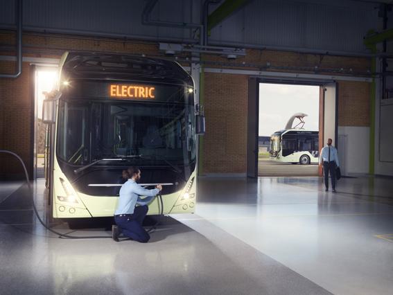 Oslo recibirá 17 autobuses eléctricos de Volvo