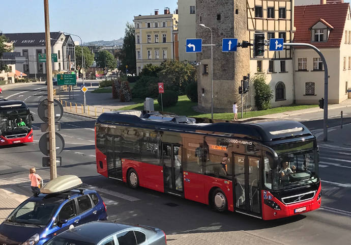Singapur encarga 50 buses híbridos 7900 de Volvo