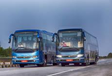 Gama de Volvo Buses en la India