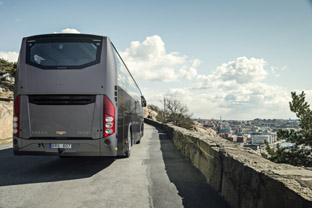 Volvo presenta en Busworld con modelos de lujo