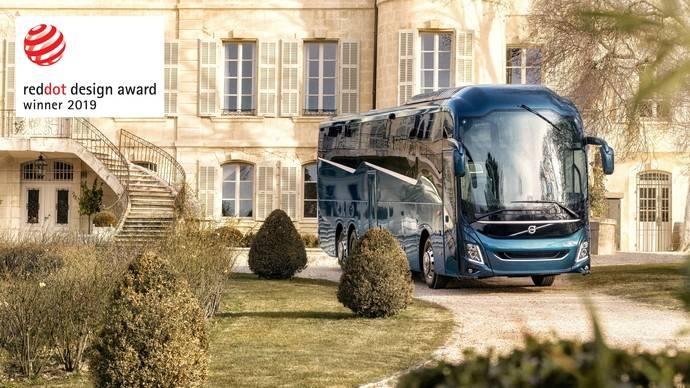 Volvo Buses gana el Red Dot Product Design Award