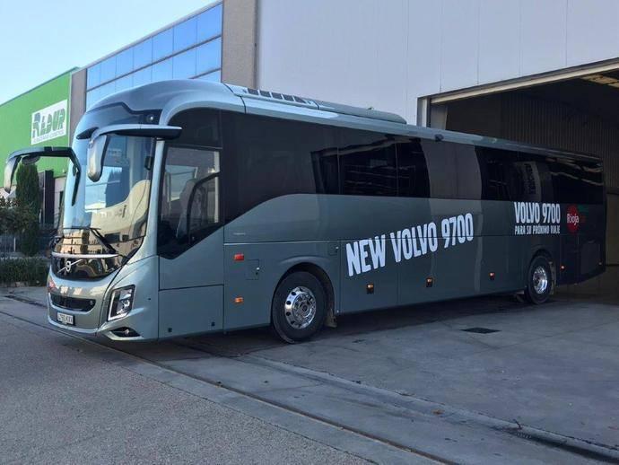 Riojacar realiza una prueba con el Volvo Bus 9700, con un resultado exitoso