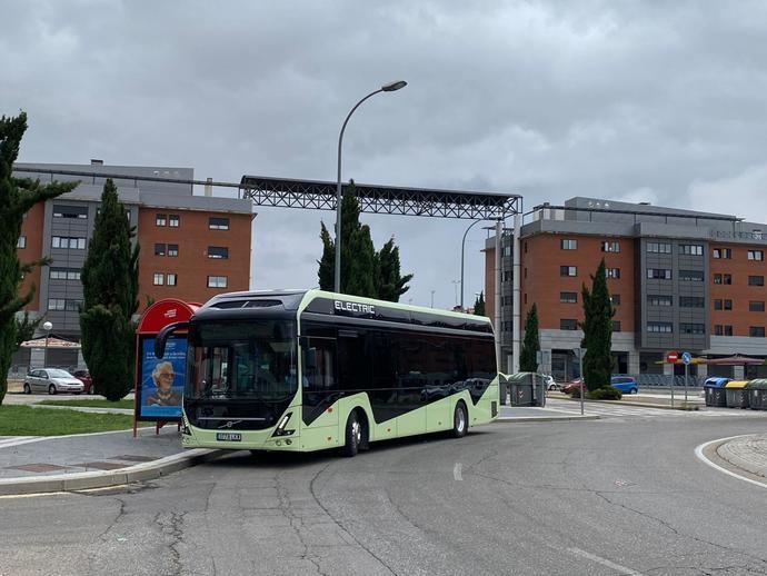 Volvo 7900 Eléctrico de Volvo Buses rueda en diferentes puntos de España