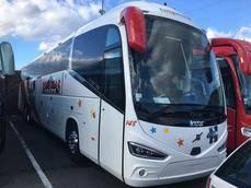 Autocares Romerías renueva su flota con seis Volvo carrozados por Irizar y Sunsundegui