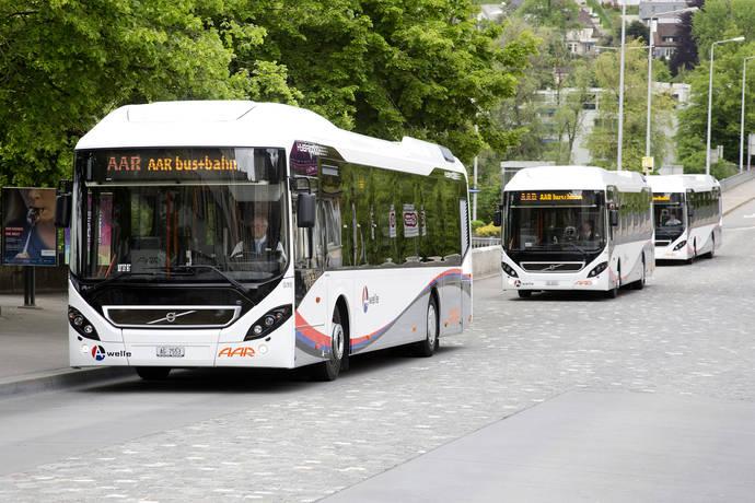 Volvo y sus buses híbridos marcan un nuevo hito