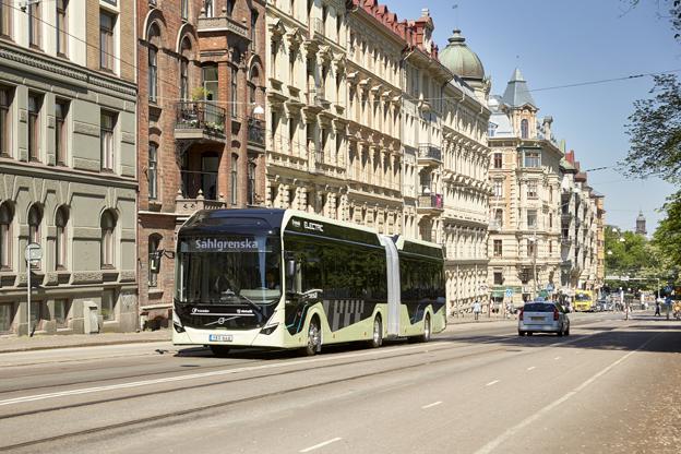 Volvo recibe el mayor pedido de Suecia de autobuses eléctricos