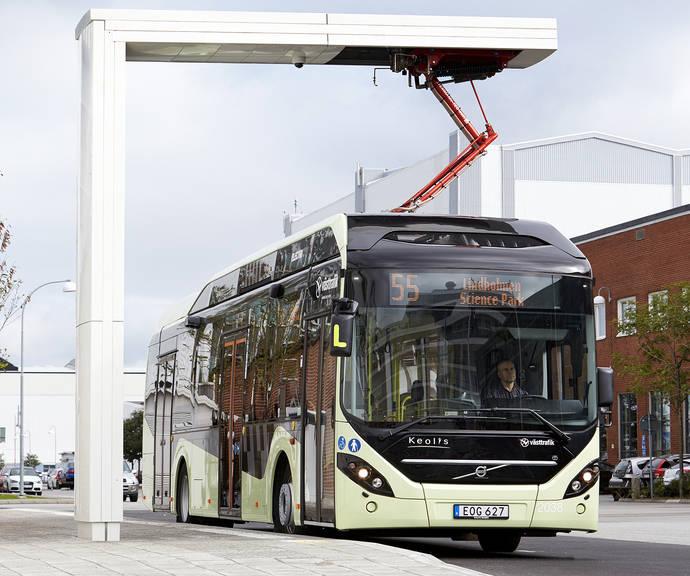 La ciudad sueca de Värnamo se vuelve eléctrica con los híbridos Volvo