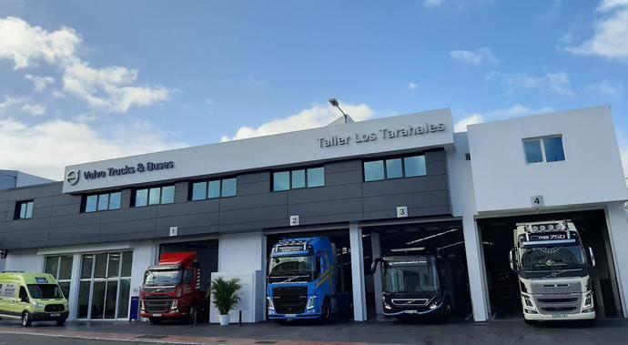 Nuevo Servicio Oficial de Volvo Trucks & Bus en Gran Canaria
