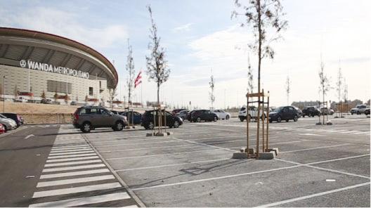 EMT Madrid, gestor del aparcamiento del estadio Wanda Metropolitano