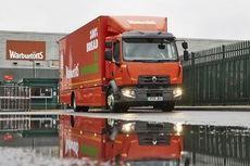 Warburtons ya tiene su primer camión 100% eléctrico Renault DZE