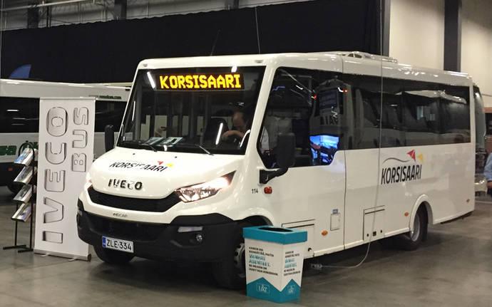 Indcar participa en la feria 'Bus 2017 Jyväskylä', realizada en Finlandia