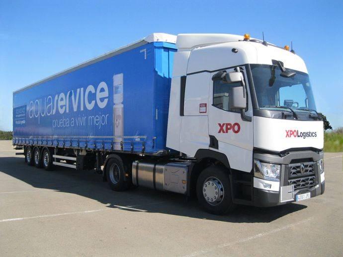 XPO Logistics gestionará el transporte de agua de Aquaservice