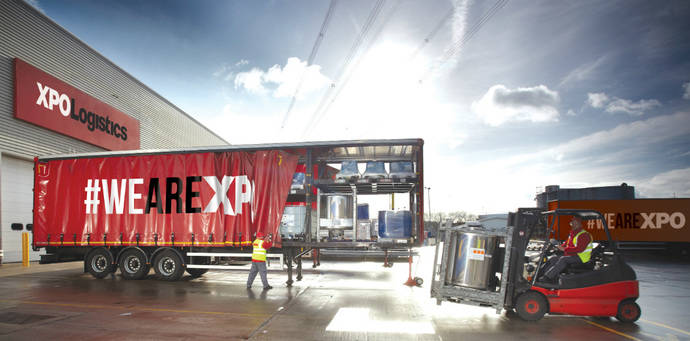 XPO Logistics obtiene el premio Diamond Supplier de Navistar