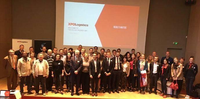 Seminario conjunto entre XPO Logistics y Solvay