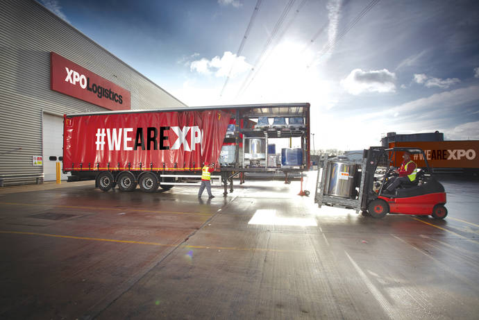 XPO Logistics Europe logra incrementar sus ingresos un 16%