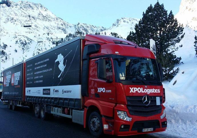 XPO, proveedor de transporte europeo del Swatch Freeride World Tour 2016