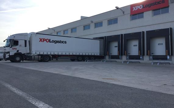 La nueva plataforma logística de XPO en Pamplona.