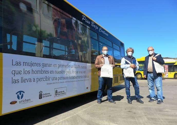 Guaguas Municipales colabora con Yrichen