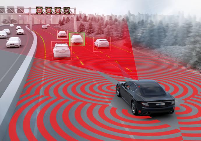 ZF presenta sus avanzadas funciones de conducción parcialmente automatizada
