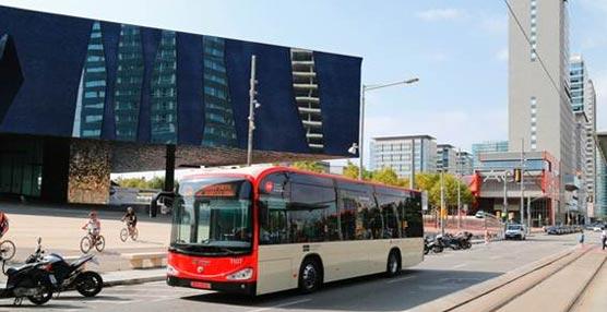 Fase de pruebas con autobuses eléctricos en Barcelona