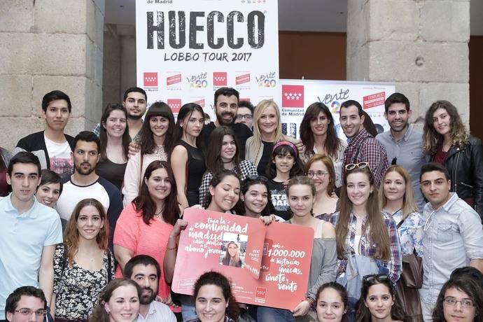 Casi 1.100.000 jóvenes madrileños ya son usuarios del Abono Joven