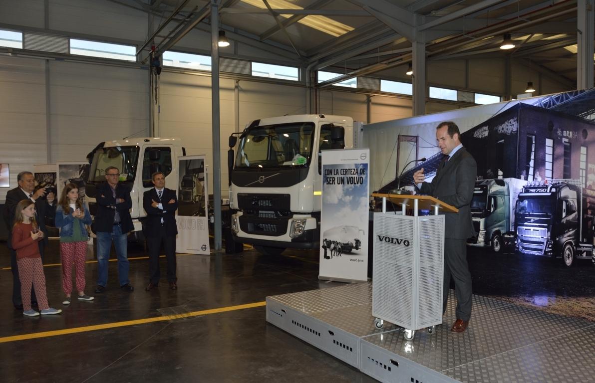 Comercial Automoción Rubio cumple 25 años con Volvo