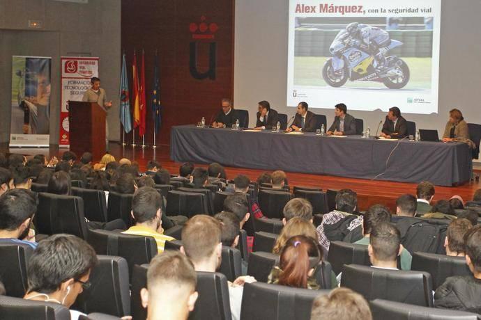 Curso de seguridad vial en la Universidad Rey Juan Carlos