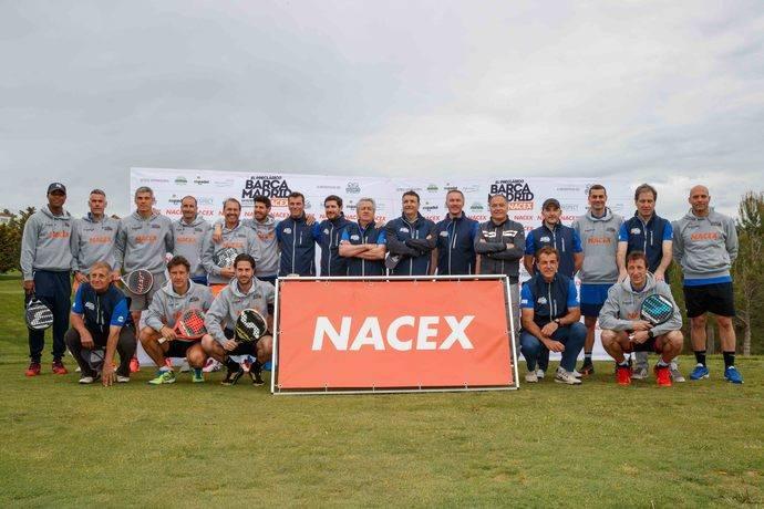 Nacex organiza un evento solidario de exfutbolistas
