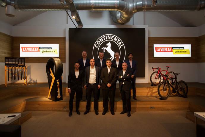 Continental se convierte en patrocinador oficial de La Vuelta 2018