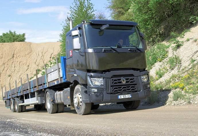 Un Renault Trucks Gama C.