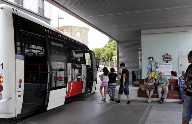 El transporte urbano aumenta un 5,5% en tasa anual y el interurbano un 4,3%
