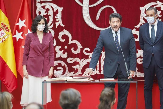 David Pérez García, nuevo consejero de Transporte Movilidad e Infraestructura de Madrid