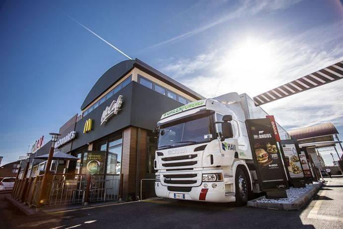 Havi y Scania ayudan a reducir las emisiones de CO2 de McDonald's